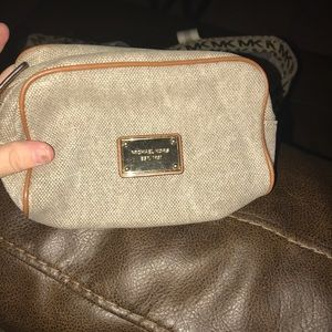 Michael Kors Corduroy makeup bag